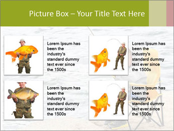Small Boy Fishing PowerPoint Template - Slide 14