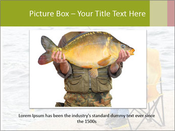 Small Boy Fishing PowerPoint Template - Slide 16