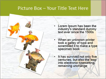 Small Boy Fishing PowerPoint Templates - Slide 17
