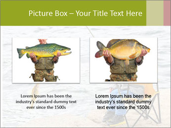 Small Boy Fishing PowerPoint Templates - Slide 18