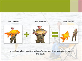 Small Boy Fishing PowerPoint Templates - Slide 22