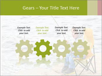 Small Boy Fishing PowerPoint Templates - Slide 48