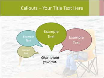 Small Boy Fishing PowerPoint Template - Slide 73