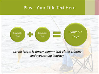 Small Boy Fishing PowerPoint Templates - Slide 75