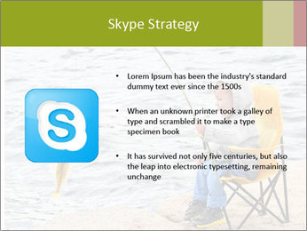 Small Boy Fishing PowerPoint Templates - Slide 8