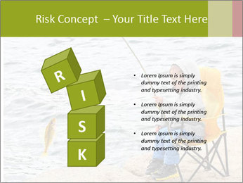 Small Boy Fishing PowerPoint Templates - Slide 81