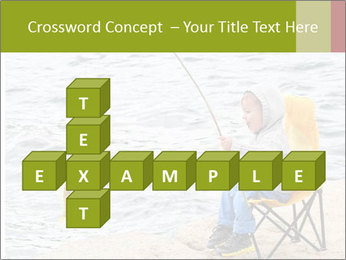 Small Boy Fishing PowerPoint Templates - Slide 82