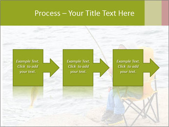 Small Boy Fishing PowerPoint Template - Slide 88