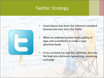 Small Boy Fishing PowerPoint Templates - Slide 9