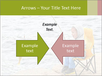 Small Boy Fishing PowerPoint Template - Slide 90