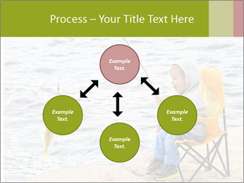 Small Boy Fishing PowerPoint Templates - Slide 91
