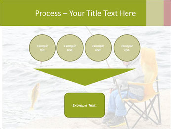 Small Boy Fishing PowerPoint Template - Slide 93