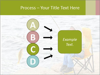 Small Boy Fishing PowerPoint Templates - Slide 94