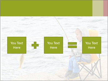 Small Boy Fishing PowerPoint Template - Slide 95