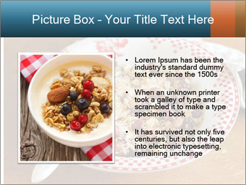 Organic Granola PowerPoint Template - Slide 13
