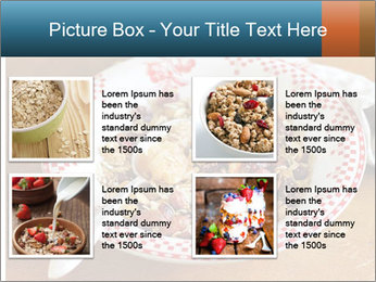 Organic Granola PowerPoint Template - Slide 14