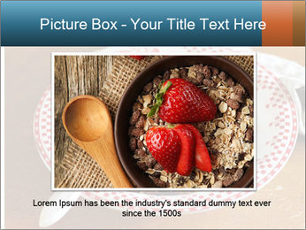 Organic Granola PowerPoint Templates - Slide 15