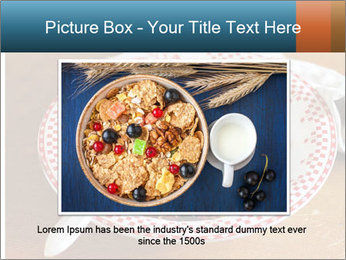 Organic Granola PowerPoint Template - Slide 16