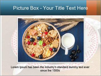 Organic Granola PowerPoint Templates - Slide 16
