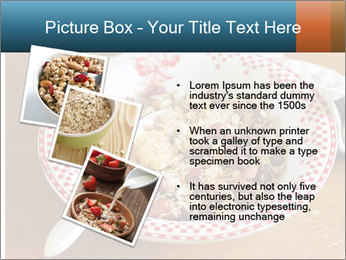 Organic Granola PowerPoint Template - Slide 17