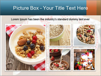 Organic Granola PowerPoint Template - Slide 19