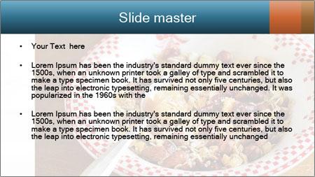 Organic Granola PowerPoint Template - Slide 2