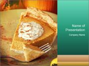 Vegan Cake PowerPoint Templates