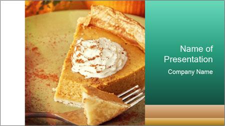 Vegan Cake PowerPoint Template