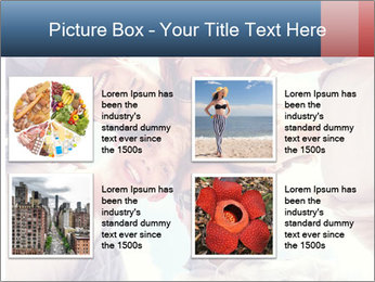 Happy friends, posing for a selfie. PowerPoint Template - Slide 14