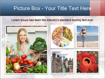 Happy friends, posing for a selfie. PowerPoint Template - Slide 19