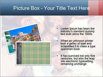 Happy friends, posing for a selfie. PowerPoint Templates - Slide 20