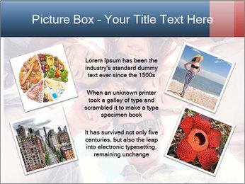 Happy friends, posing for a selfie. PowerPoint Template - Slide 24