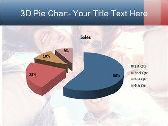 Happy friends, posing for a selfie. PowerPoint Templates - Slide 35