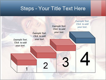 Happy friends, posing for a selfie. PowerPoint Templates - Slide 64