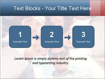 Happy friends, posing for a selfie. PowerPoint Template - Slide 71