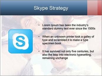 Happy friends, posing for a selfie. PowerPoint Template - Slide 8