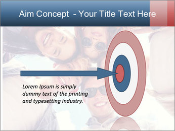 Happy friends, posing for a selfie. PowerPoint Templates - Slide 83