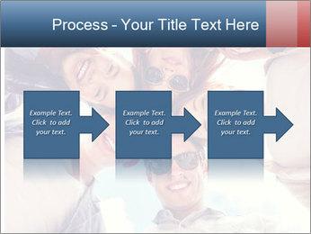 Happy friends, posing for a selfie. PowerPoint Template - Slide 88