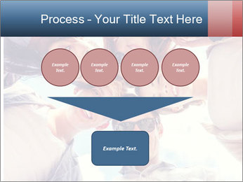 Happy friends, posing for a selfie. PowerPoint Templates - Slide 93