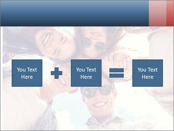 Happy friends, posing for a selfie. PowerPoint Templates - Slide 95