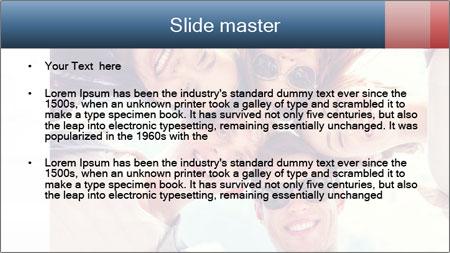 Happy friends, posing for a selfie. PowerPoint Template - Slide 2