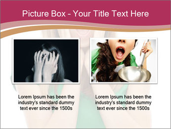 Woman In Panic PowerPoint Template - Slide 18