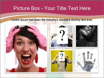 Woman In Panic PowerPoint Template - Slide 19