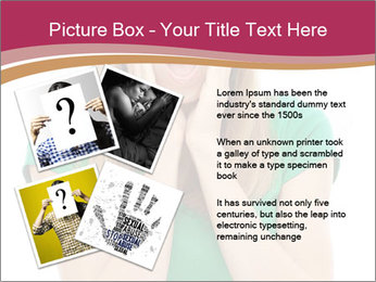 Woman In Panic PowerPoint Template - Slide 23