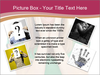 Woman In Panic PowerPoint Template - Slide 24
