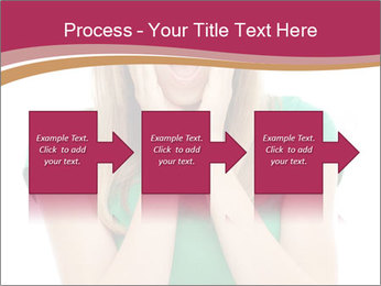Woman In Panic PowerPoint Template - Slide 88