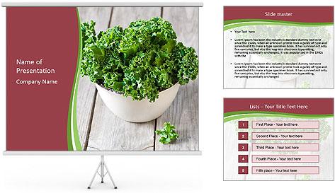 Veg Diet PowerPoint Template