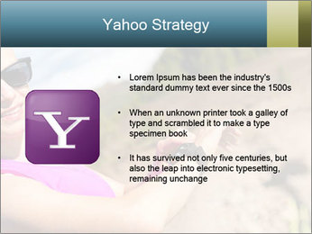 Woman Hiker PowerPoint Template - Slide 11