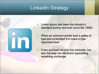 Woman Hiker PowerPoint Template - Slide 12