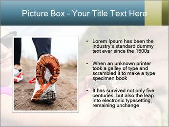 Woman Hiker PowerPoint Template - Slide 13